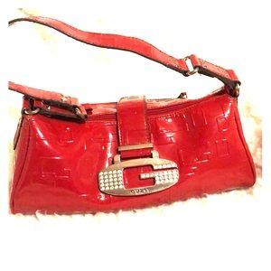 Red Guess handbag